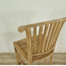Barstool Backrest - Teak - 17736