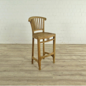 Barstool Backrest Teak  17737