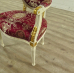 Set Baroque chairs with table - 17740
