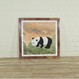 Marble Table Top Panda 1,00 m - 17741A