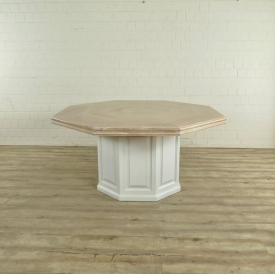 Dining Table - Solid Wood Ø 1.60 m - 17742