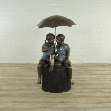Wasserspeier Kinder Bronze 1,43 m