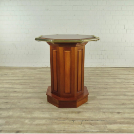 Bar Table Mahogany Ø 1,08 m - 17763E