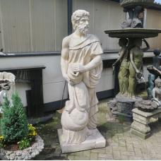 Garden Sculpture Gargoyle Fountain Greek God 2,00 m - 17771E