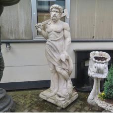 Garden Sculpture Gargoyle Fountain Greek God 2,00 m - 17772E