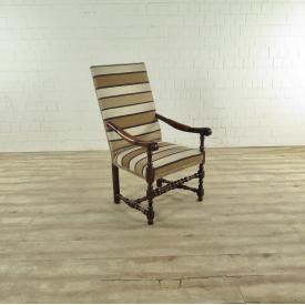 Ralph Lauren Stuhl Braun-Beige-Creme