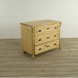 Chest of Drawers Louis Philippe 1860 Pine - 17792E