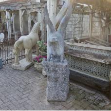 Garden Sculpture Eagle 1,80 m - 17800E