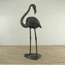 Wasserspeier Flamingo Bronze 2,18 m