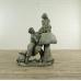 Skulptur Dekoration Kinder Bronze 1,10 m