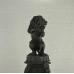 Skulptur Dekoration Löwe Bronze 2,10 m