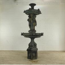 Brunnen Wasserspeier Bronze 2,80 m
