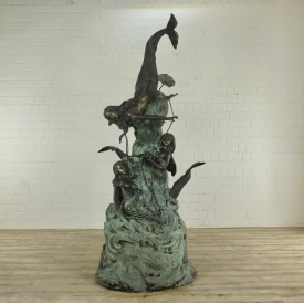 Water Fountain Mermaids Bronze 2.68 m - 17831E