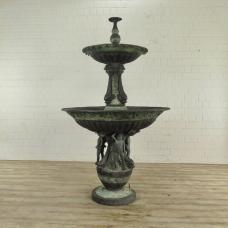 Brunnen Wasserspeier Bronze 2,20 m