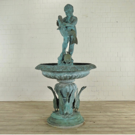 Fountain Boy Bronze Ø 1.10 m - 17834E