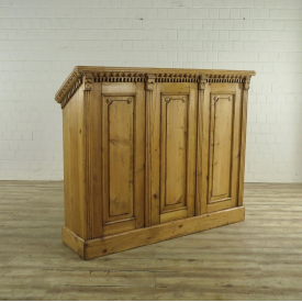 VAN THIEL & CO. Desk Lectern Pine 1.73 m - 17849E