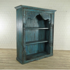 Bookcase Teak Blue - 17908E