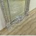 Spiegel Wandspiegel Barock Silber