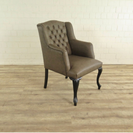 Padded Dining Chair Grey  - 18031