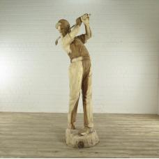 Wooden Sculpture Golfplayer 2,20m - 18061E