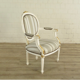 Chair Baroque White - 18084