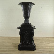 Vase auf Sockel Blumenkübel 1,94 m