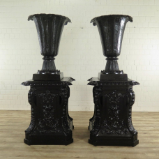 Vases on Pedestals - 18105
