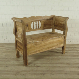 Chestbench Teak Nature 1,20 m - 18118