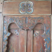 Eingangstor Haustür Tür Teakholz