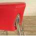 Barhocker Barstuhl Rot PU-Leder
