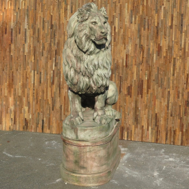 Sculpture lion stone 1.80 - 18218