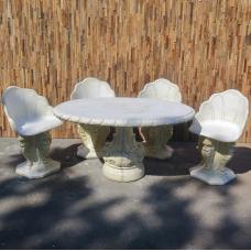 Beton Garten Sitzgarnitur