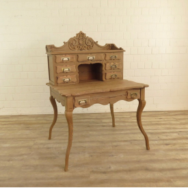 Schreibtisch Biedermeier 1890 Kiefer