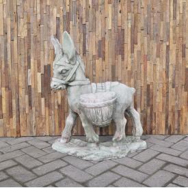 Concrete donkey statue 0,80 m