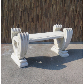 Garden bench made of concrete 1,30 m