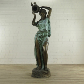 Water Fountain Woman Bronze 2.05 m - 18280