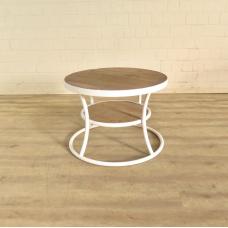 Beistelltisch Tisch Teakholz Ø 0,70 m