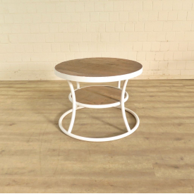 Side table Teak wood Ø 0,70 m - 18283