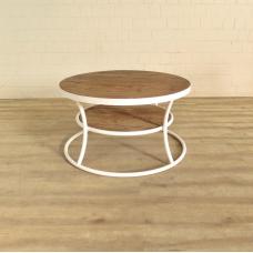 Beistelltisch Tisch Teakholz Ø 0,90 m