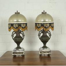 Set Tischlampen Lampe Bronze Antik 0,60 m