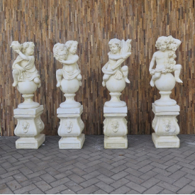 Sculptures 4 seasons 1,55 m - 18299 E