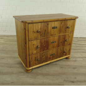 Chest of drawers from 1860 | Biedermeier Pinewood