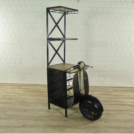 Minibar Weinregal Scooter 0,60 m