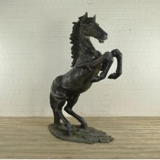 Skulptur Pferd Bronze 2,10 m