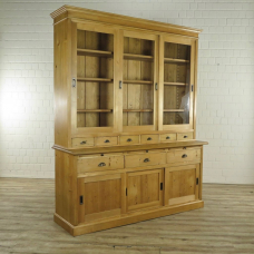 Cupboard bookcase Pine wood 1,96 m