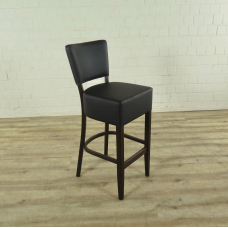 Barstool back PU leather