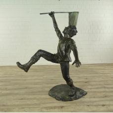 Sculpture Decoration Boy Bronze 1.65 m