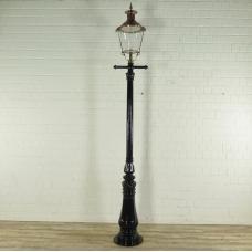 Laterne Gartenlampe Schwarz 3,50 m