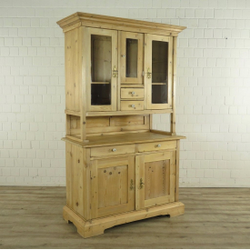 Kitchen cabinet Jugendstil from around 1910 Pinewood