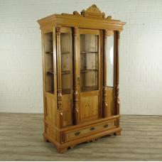 Cabinet in Grunderzeit style Pinewood 1,30 m